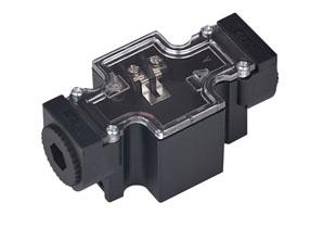 油研型02电磁阀接线盒