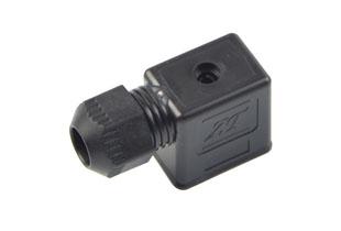 B型防水黑插头(气动电磁阀插头)