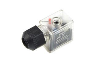 B型防水带灯插头(气动电磁阀插头)