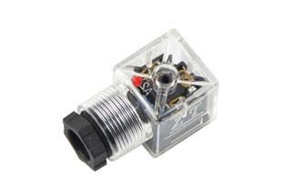 A型加强型带灯插头(液压电磁阀插头)