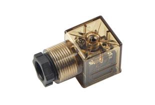 A型PG11带灯插头(液压电磁阀插头)