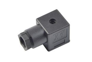 A型PG11-B12黑插头(液压电磁阀插头)