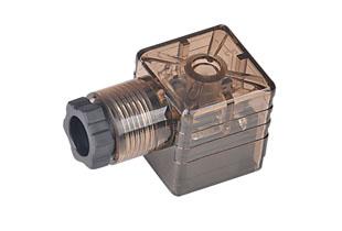 A型PG9带灯插头(液压电磁阀插头)