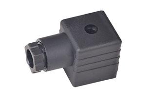 A型PG9-B12黑插头(液压电磁阀插头)