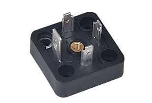 A型电磁阀插座
